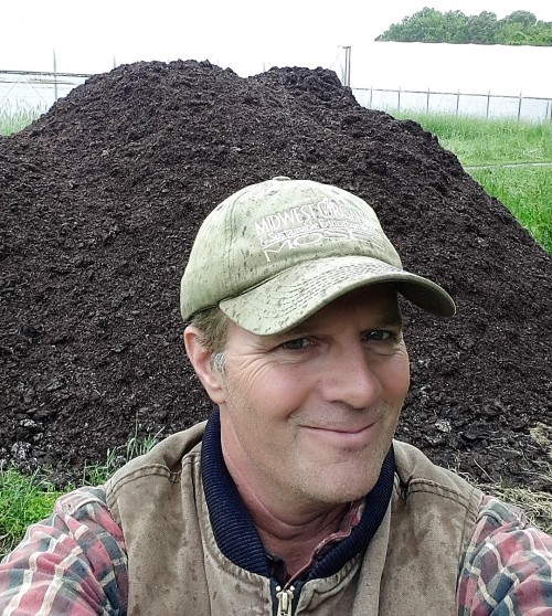Organic farmers love compost, cover crops and a (hard working) crew.  We have them all hrere at Sassafras Creek Farm!