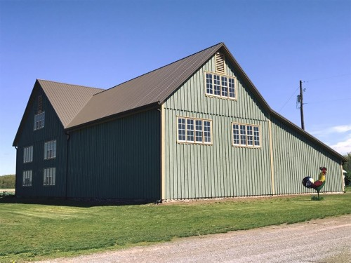 The August Barn Co. knocked it out of the park with our barn restoration.
