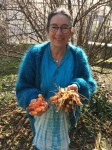 Karen with Fresh Turmeric