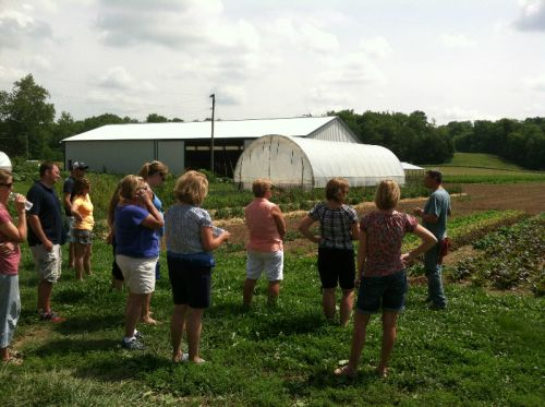 One of the L&A farm tours!