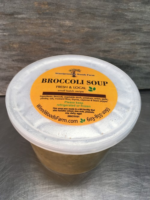 Broccoli Soup: Vegan
