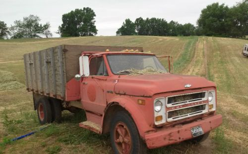 My beloved 1970 C-50 dump truck that sounds like Nascar