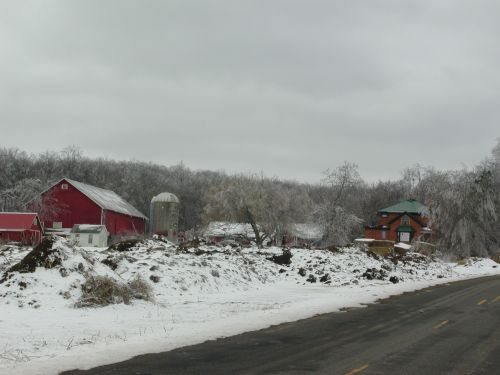 Springdale Farm in Winter