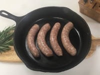 Fresh PORK Rosemary Garlic Sausage