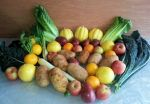 Double Share Vegetables & Fruits Tote