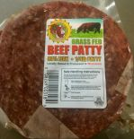 100% Grass-Fed Beef Patties