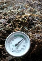 Hot compost...over 50ºC