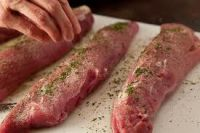 Pork Tenderloin $14.00 per lb Packages Range from .5-1.2 lbs