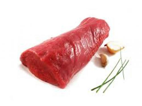 _Beef Tenderloin_ $19.00 per lb  Packages range from 2.5-2.8 lbs