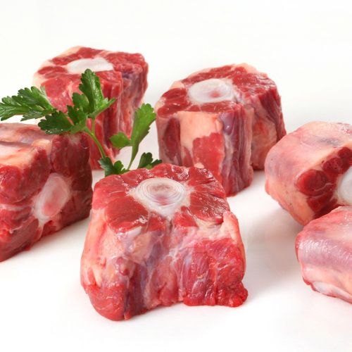 __Beef Ox Tail__          $4.50 per lb      Packages range from 1.5-2.2 lbs