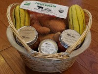 Friend of the Farm Gift package - packed into a Basket