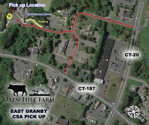 Map of East Granby Farmers' Market