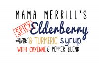 Mama Merrill's SPICY Elderberry Tonic - Case