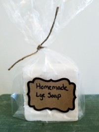 Homemade Lye Soap