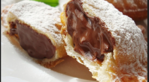 Fried Chocolate Pie - 1 Serving