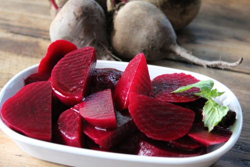 Pickled Beets - Hot
