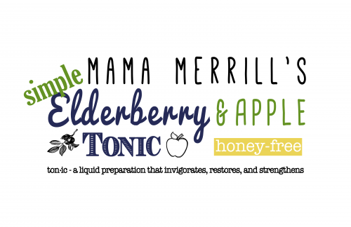 Mama Merrill's Simple Elderberry and Apple Tonic