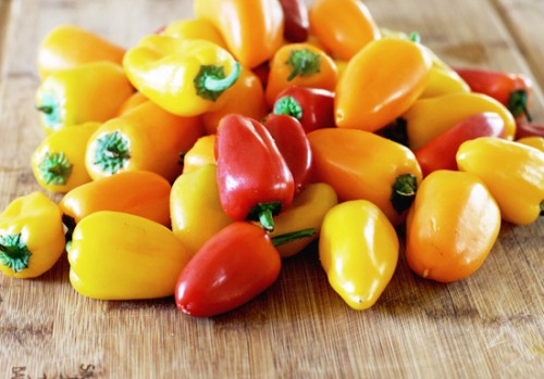 Mini Bell Peppers - Assorted Mix - 1 lbs