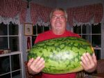 My 87 pound watermelon