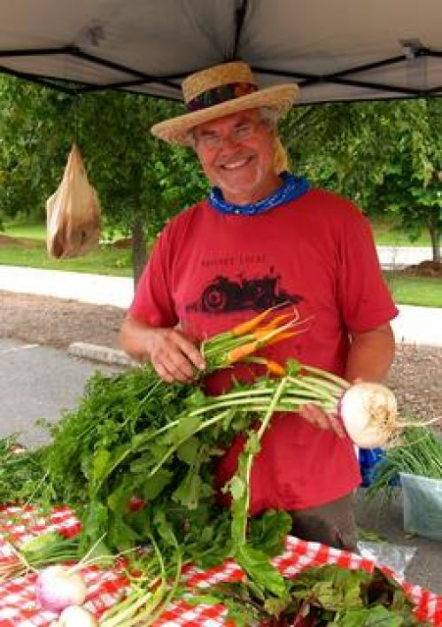 Farmer Floyd on market day