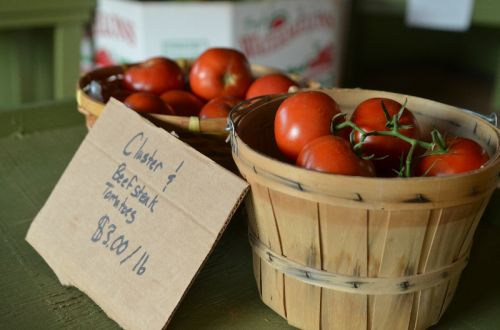Tomatoes In The Store