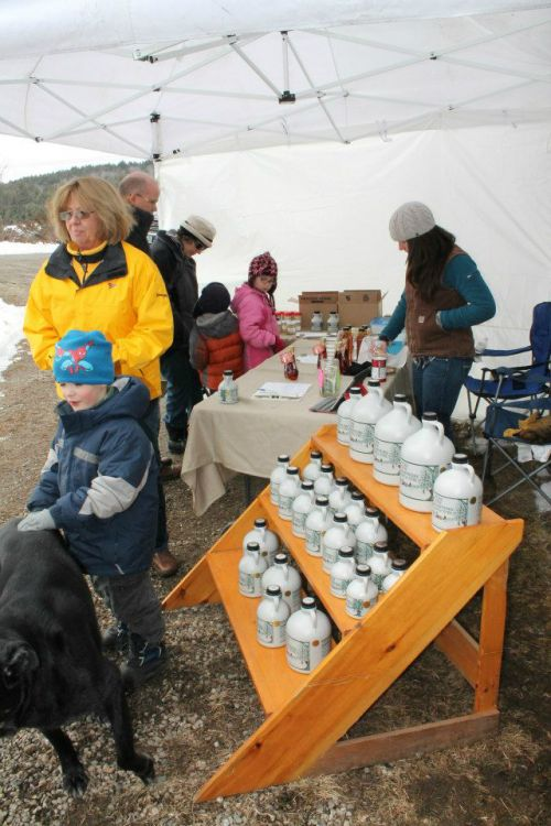 Maple Weekend Sales at the Sugar House