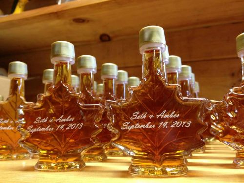 Maple Syrup Wedding Favors - we design to order