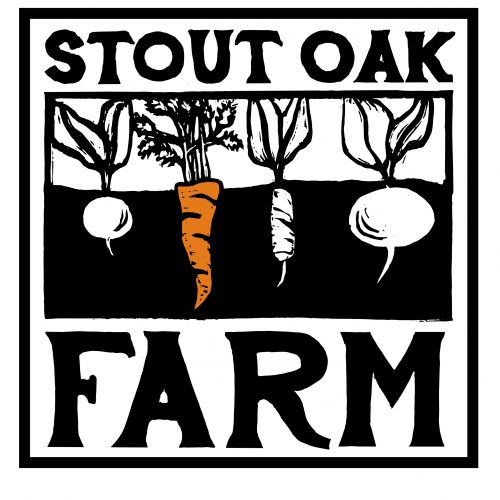 Stout Oak Farm Logo Sticker!