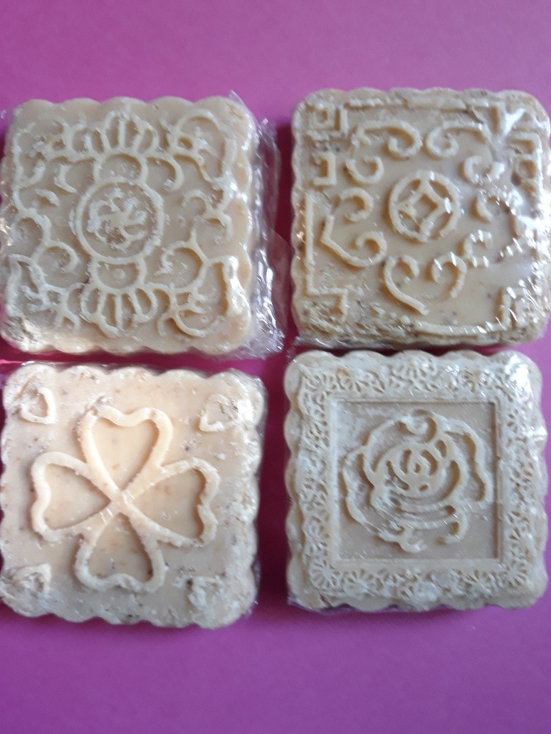 All Natural Lard Soap Small Square