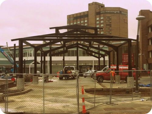 Festival Market Square Construction Spring 2015