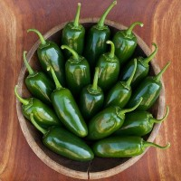 Peppers (hot): Jalapeño
