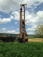 Drilling our well on a gorgeous spring day!