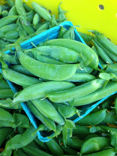 Sugar snap peas!
