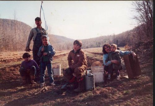 Our family many years ago