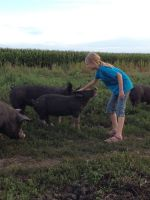 Susannah with Pastured Pig