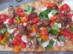 Summertime Grilled Pizza