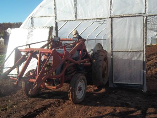 Removable Panels for Tractor Access