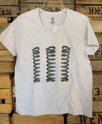 Ladies Logo Tee - Gray
