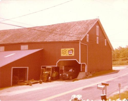 The barn at the home farm, several years ago