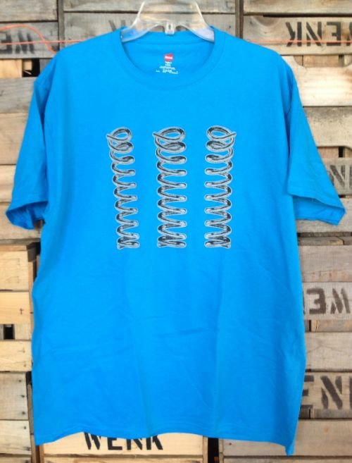 Men's Logo Tee - Blue