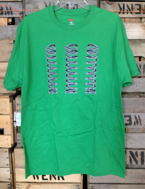 Men's Logo Tee - Green