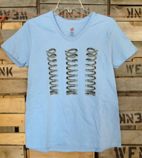 Ladies Logo Tee - Powder Blue