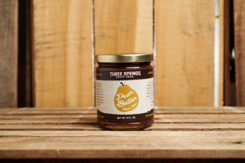 Pear Butter (no sugar added)