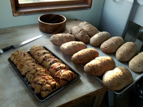 loaves cooling