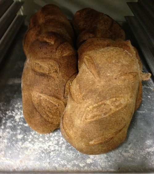 loaves on cooling rack