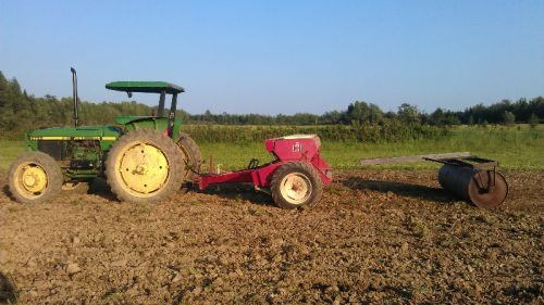 Seeding cover crops