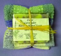 Handwoven towel-Soap Combo