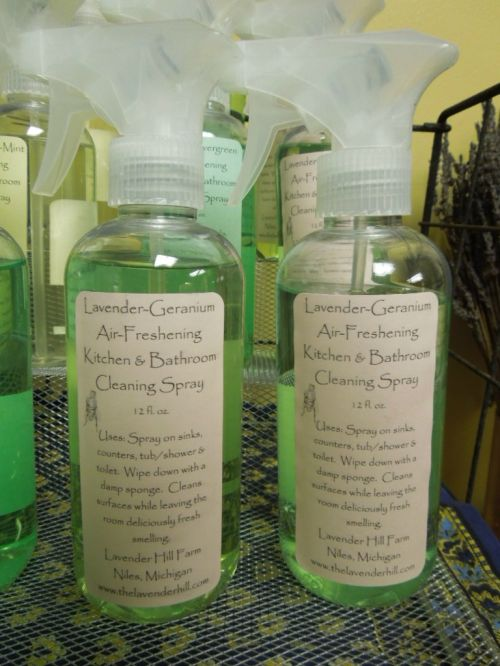 Lavender-Geranium Kitchen Spray