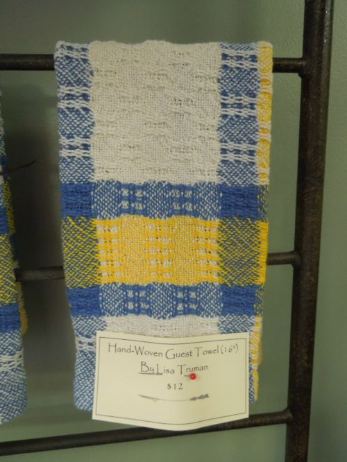 Hand-woven towel