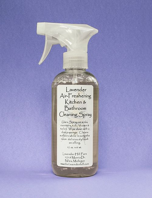 Lavender Kitchen & Bathroom Cleaning Spray, 12 oz.
